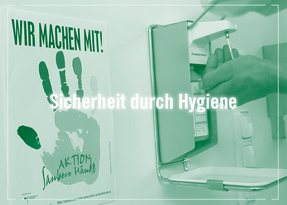 Patientensicherheit Hygienemanagement