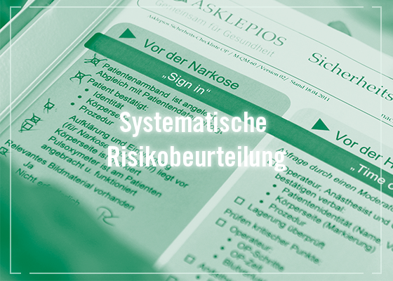 Patientensicherheit Risiko-Check